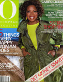 Cover of Oprah magazine